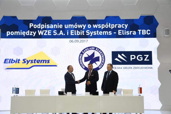 WZE-Elbit Systems Electronics Warfare cooperation agreement